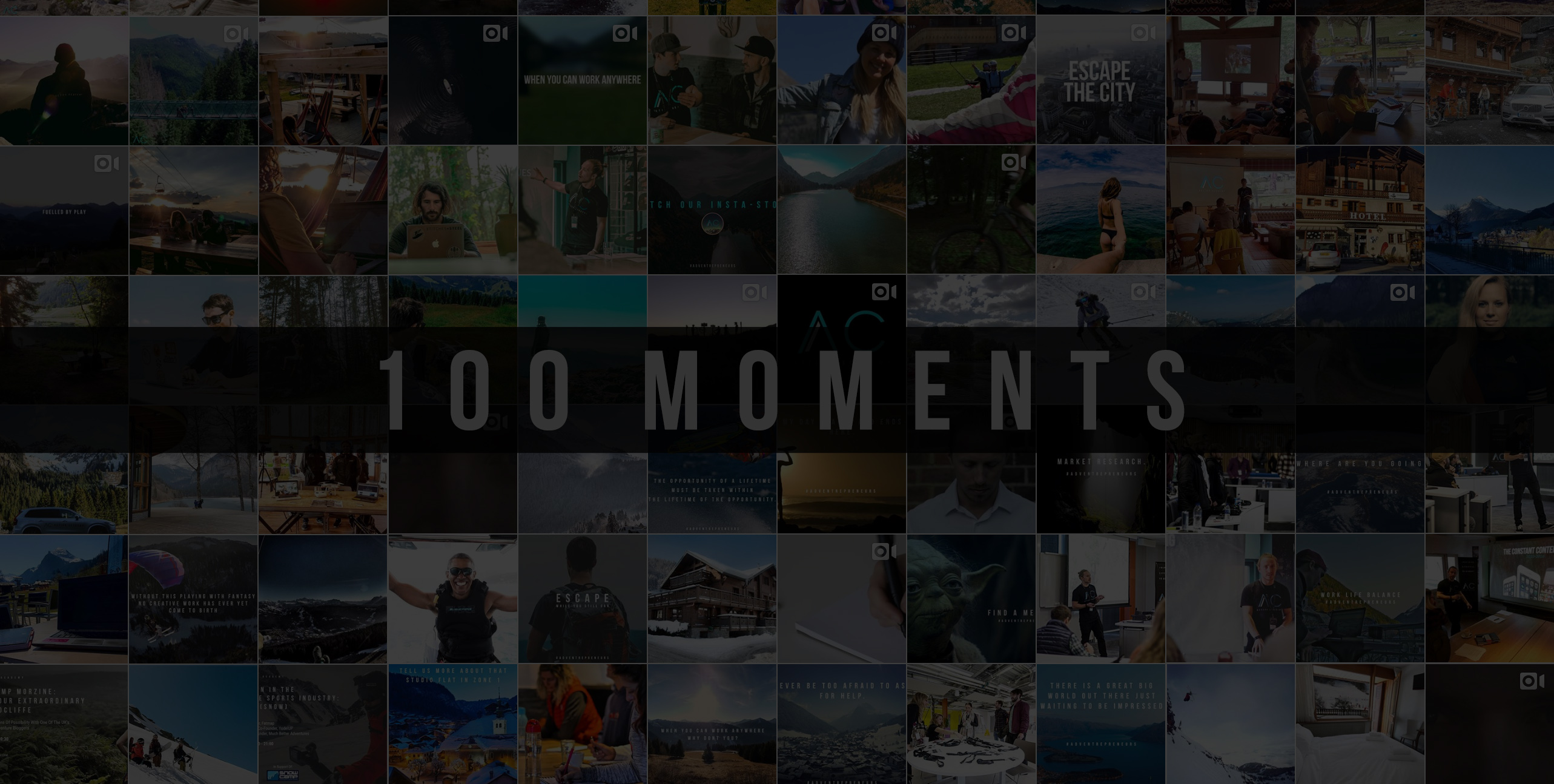 We're Celebrating 100 Moments Shared With Our Community
